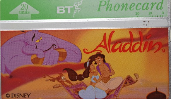 Aladdin_Phonecard
